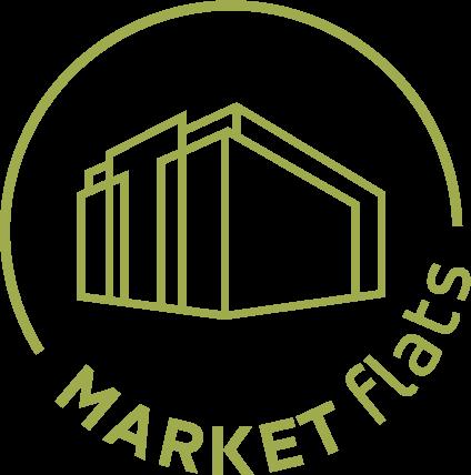 Market Flats Logo in Circular Icon